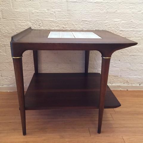 mid-century-modern-circa-1962-ceramic-tile-inlay-end-table-Lane-Furniture