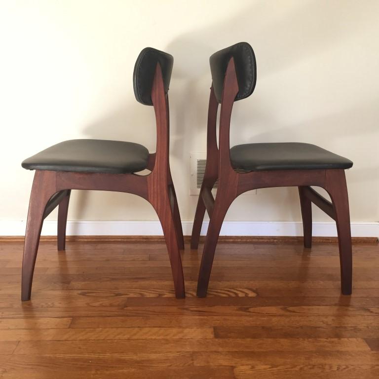 Danish Modern Dining Chair set