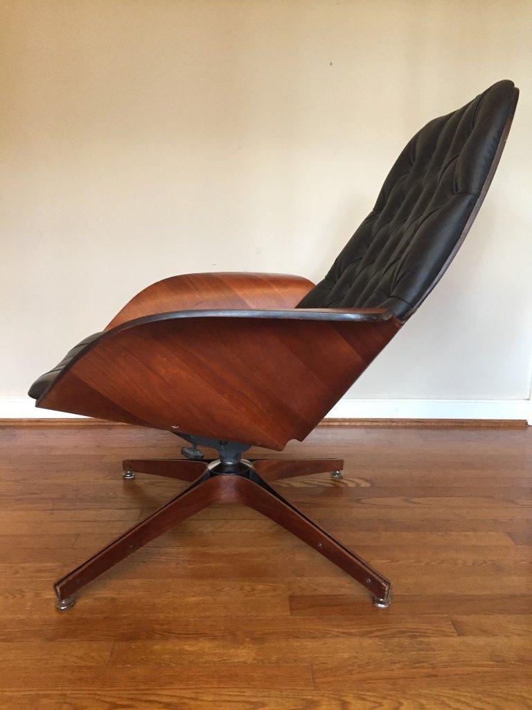 Vintage Mr. Chair Bent Wood lounge George Mulhauser Plycraft