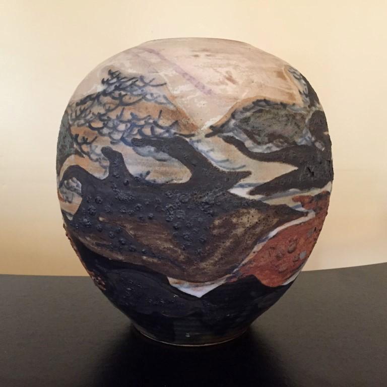 art pottery crock
