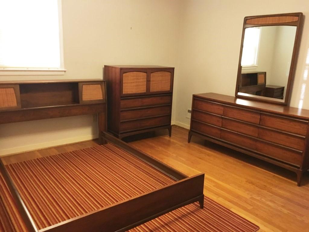mid century modern bedroom set Lane rhythm