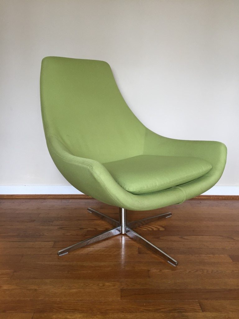 mid century modern style egg chairs