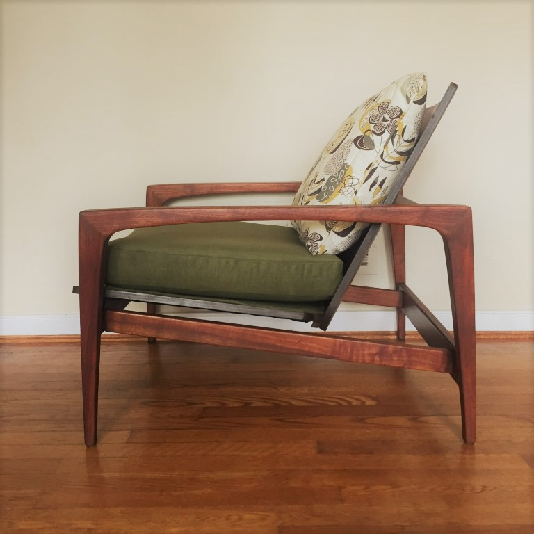 bentwood lounge chair mid century modern