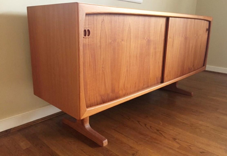 Danish Modern Credenza Sideboard : Danish modern credenza archives epoch