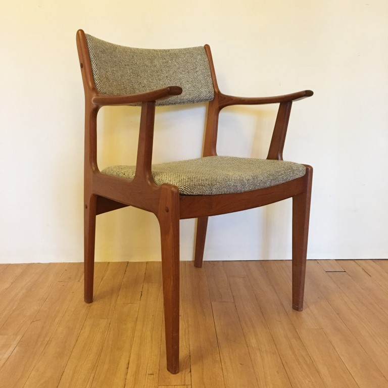 Stupendous Mid Century Danish Modern Teak Dining Chairs Set Of 6 Epoch Bralicious Painted Fabric Chair Ideas Braliciousco