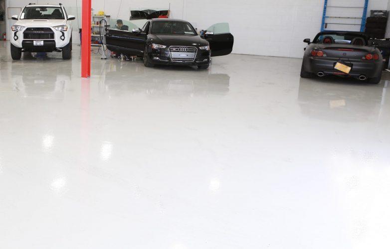 epoxy floor painting