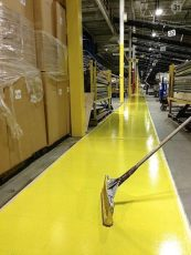 Floor urethane coating