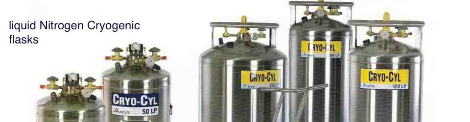 Liquid Nitrogen tanks