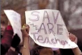 Save Are Teachers!