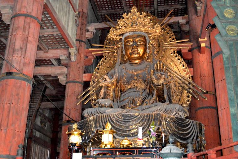 Todai-ji Temple: Buddha