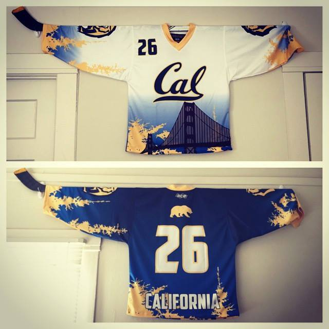 Cal roller hockey uniforms