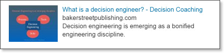 Decision Engineering is emerging as a new profession. | LinkedIn
