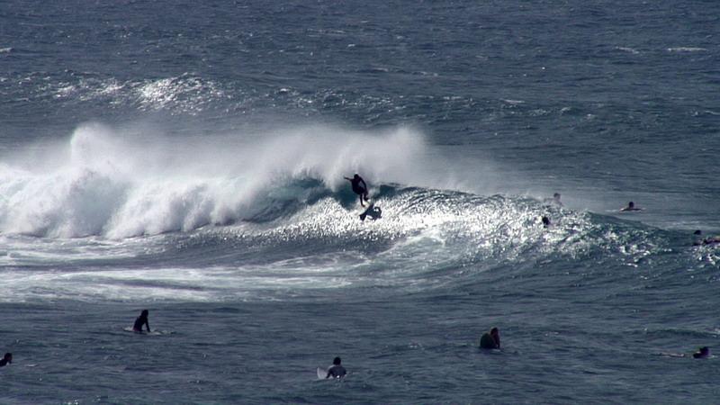 Ho'okipa Beach Surfing Maui