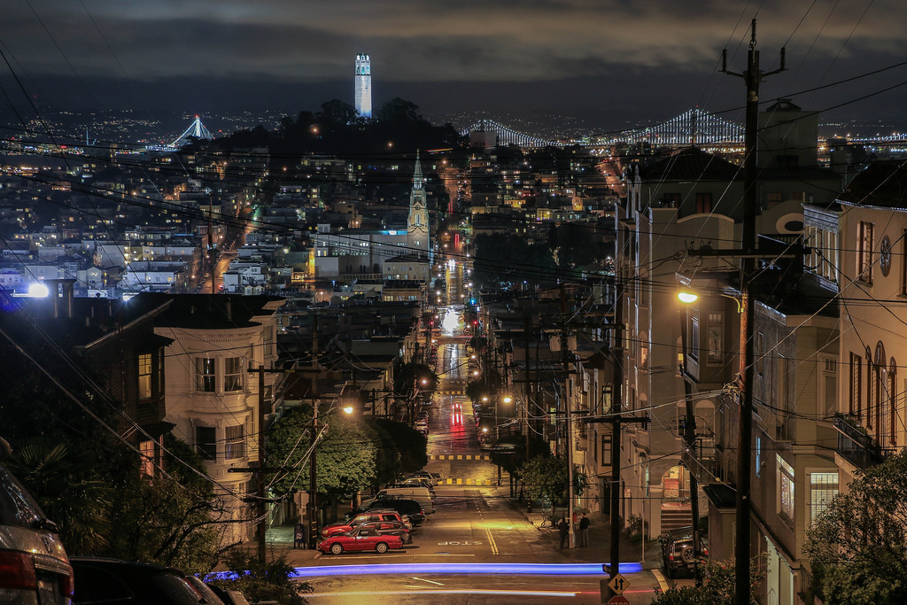 San Francisco from Nob Hill