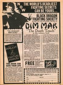 Advertisement for Dim Mak