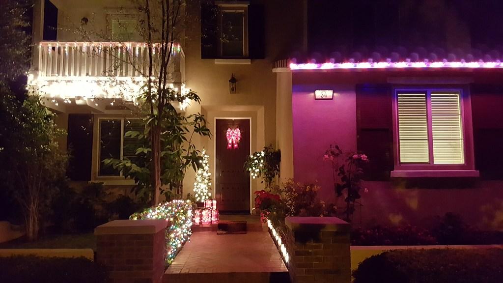Christmastime in Irvine