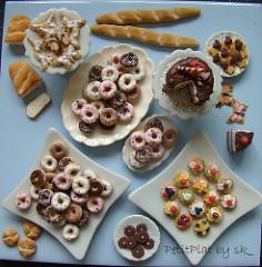 miniature food en masse
