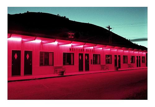Western Motel in Pink by Jeep Novak!