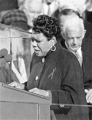 "Maya Angelou reciting her poem, ""On the P..."
