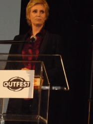 Jane Lynch at Outfest 2010