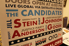 Third-party! Stein, Johnson, Anderson and Good...