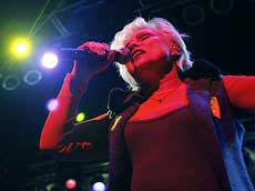 Deborah Harry at the House of Blues in Anaheim