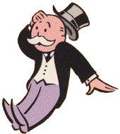 Shocked Monopoly man