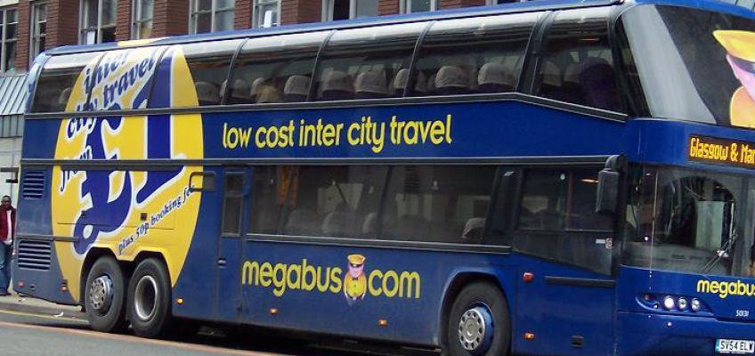 Megabus: i viaggi con bus ad un euro