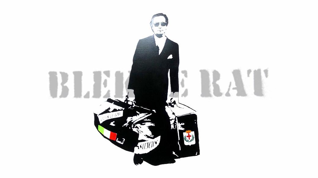 Blek le Rat tra stencil e urban art