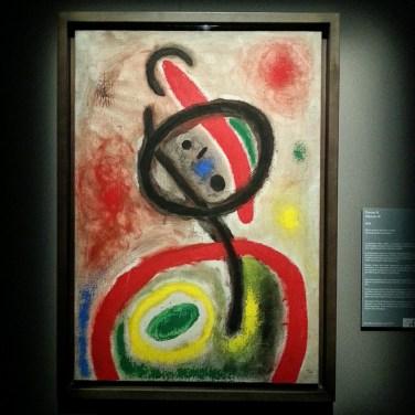Joan Mirò - Donna III, 1965 - Olio e pittura acrilica su tela