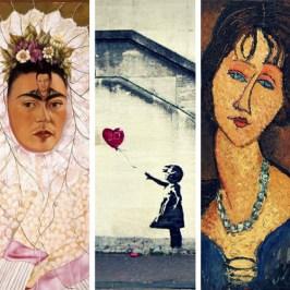 Le 10 opere d'arte più romantiche
