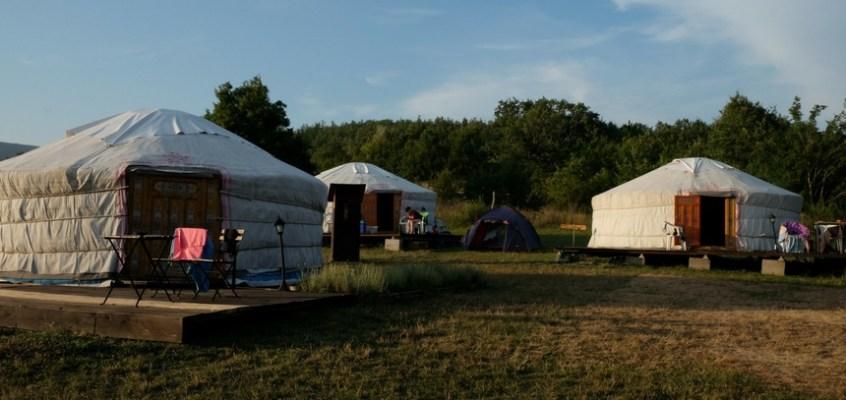 Dormire in una yurta: la mia esperienza da Ca' Cigolara a Borgo Val di Taro