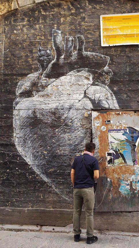 Street art alla Vucciria