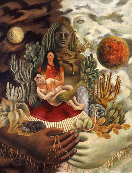 Frida Kahlo - L'amoroso abbraccio dell'universo