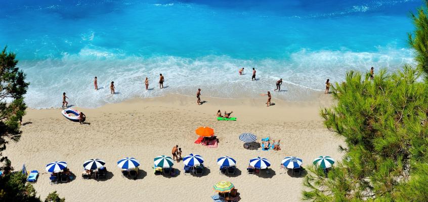 Grecia: le spiagge più belle da visitare in barca