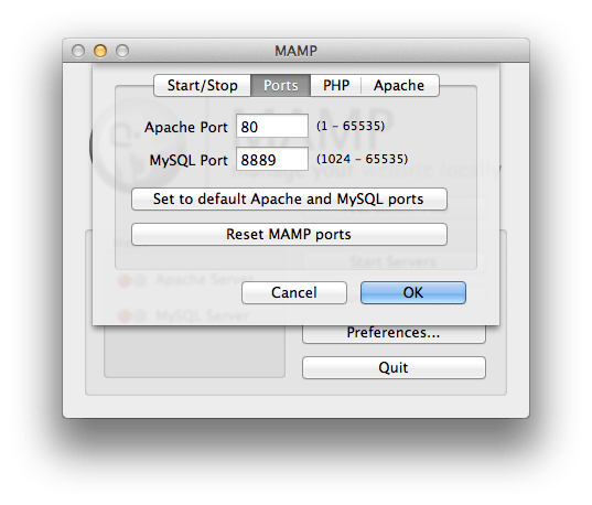 Simply set the Apache port in MAMP preferences to 80.