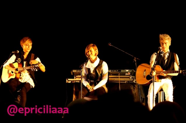 F.Y.I on stage with Lunafly, Jakarta, March 28th 2013 - Here we go, Lunafly!