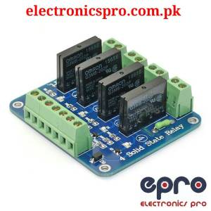4 Channel Solid State Relay Module in Pakistan