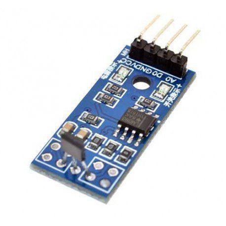 Hall-effect-sensor-module-with-sensor-44E-chip-LM393