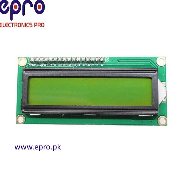 Character LCD 16X2 (Green Color)