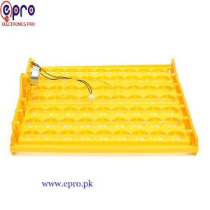 63 Eggs Turning Tray With a PCB Turning Motor for Incubator in Pakistan