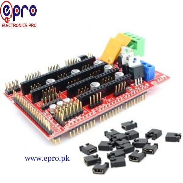 RAMPS Shield (1.4) 3D Printer Control Board in Pakistan