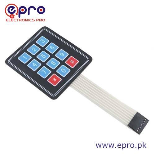 keypad 4x3 by epro