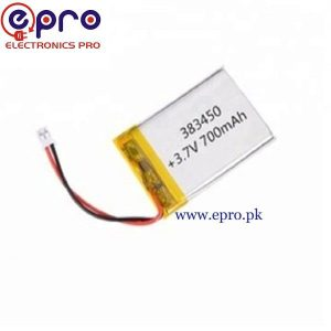 LiPo Battery 3.8V 700mAh in Pakistan