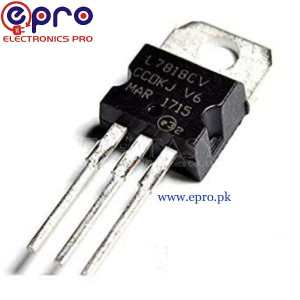 L7818CV TO220 Voltage-Regulator IC in Pakistan