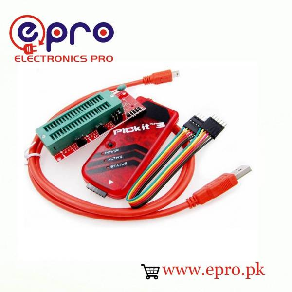 PICkit 3 Programmer Board with Adapter in Pakistan