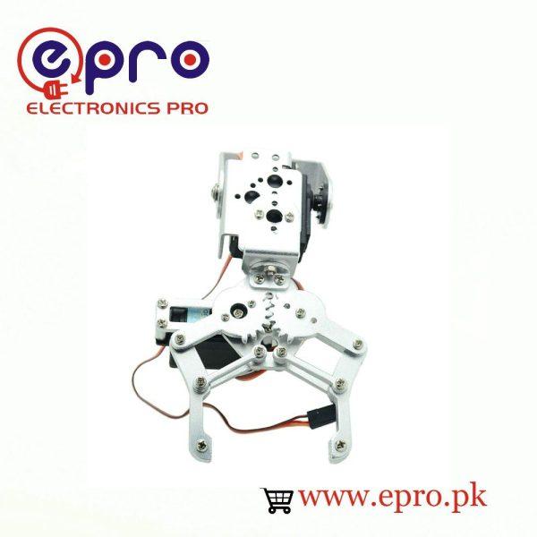 2 DOF Robot Arm Gripper with Servo in Pakistan