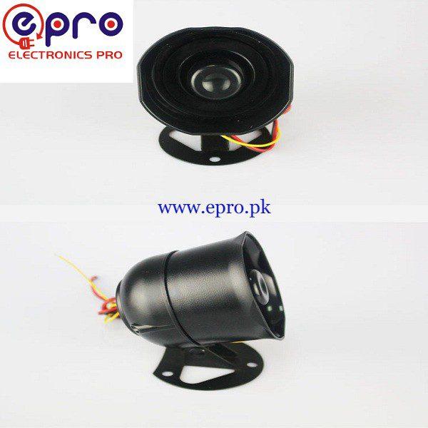 Small Alarm Siren Electric Speaker 12V 10W in Pakistan