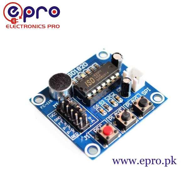 ISD1820 Voice Recording Module in Pakistan