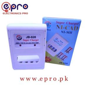 JB-628 Super Battery Charger for 9V Rechargeable Battery in Pakistan